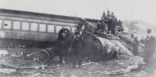 East Thompson Train Wreck